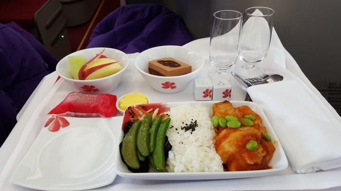 Random thoughts on in flight meals